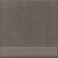 Угловой элемент STARDUST GRES Stopnica Narożna/Step Tile Corner SD 2 Grey для ступеней Ceramika Konskie 30,5x30,5