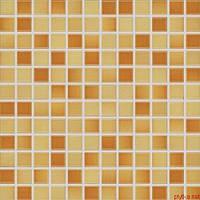 GDM02044 | Мозаика POOL для ванной 2,3x2,3 оранжевая Rako