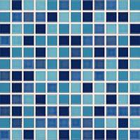 GDM02045 | Мозаика POOL для ванной 2,3x2,3 голубая Rako