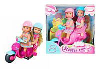 Куклы Эви Веселое путешествие на скутере Simba 5730485