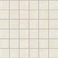 DDM06360   Мозаика DEFILE для кухни 5x5 белая Rako