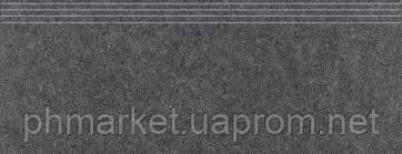DCPSE635 | Фасонный элемент ступени ROCK для кухни 30x60 коричнево-черный Rako - СПД Баюн Д.О. в Киеве