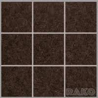 DAK12637 | Мозаика ROCK для кухни 10x10 коричневая Rako