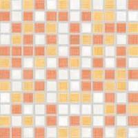 GDM02115   Мозаика SAMBA для кухни 2,5x2,5 многоцветная Rako