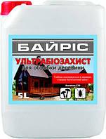 Байріс Ультрабіозахист - захист від комах, плісняви, водоростей грибка. 5л.
