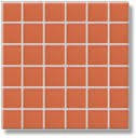 VDM05048 | Мозаика SANDSTONE PLUS  для кухни 5x5 светло-оранжевая  Rako