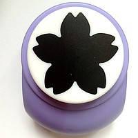 Дырокол фигурный для детского творчества JF-828 №27 Цветочек