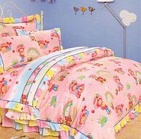 Love you Комплект постельного белья сатин для новорожденных cr-179 100x150