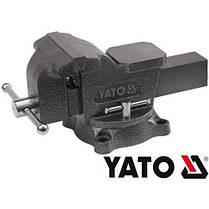 Тиски слесарные поворотные 125мм YATO YT-6502, фото 2
