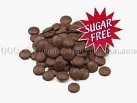 Чёрный шоколад с заменителем сахара 61,1% - Natra Cacao - 1 кг