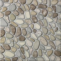 Плитка для пола Nawara 33,3x33,3 коричневая TUBADZIN DOMINO