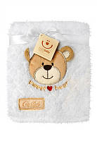 Детский плед из мягкой микрофибры в подарочной упаковке