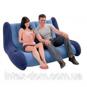 Надувной диван Intex 68560 интекс(155 х 117 х 74 х 23 см) киев