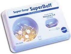 SuperBuff Shofu (набір 25 шт) пропитані пастою полірувальні диски