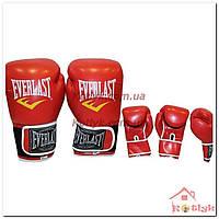 Перчатки боксерские Everlast красные