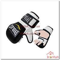 Перчатки для смешанных единоборств MMA Everlast BO-4612-BKW