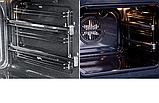 Pyramida F 84 EIX-P Black luxe (600 мм. 8 програм) електричний, вбудована духова шафа чорне скло, фото 3