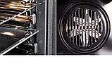 Pyramida F 84 EIX-P Black luxe (600 мм. 8 програм) електричний, вбудована духова шафа чорне скло, фото 4