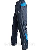 Мужские спортивные штаны адидас из плащевки на х/б подкладке (реплика)