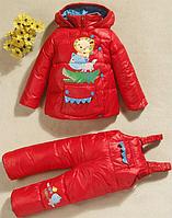 Зимний комплект, куртка и комбинезон , фото 1