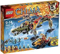 Конструктор LEGO Chima Спасение короля Кроминуса (70227)