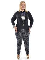 Пиджак классический большего размера, фото 1
