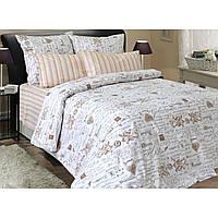 Комплект постельного белья Ангелы, размер евро