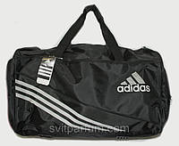 Спортивная дорожная сумка адидас из ткани (реплика)
