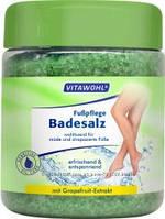 Vitawohl Foot Balm Ванночки с солью для ног снимают напряжение уставших ног, имеют розлаблюючий Эффект и нейтрализуют неприятный запах пота 600