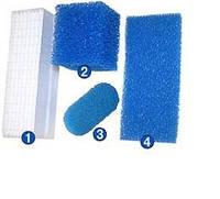 Комплект фильтров для пылесосов THOMAS Twin 4 шт (овал)