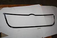 Volkswagen Bora Накладки на решетку (АБС, Хром)