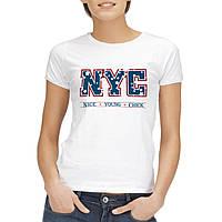 "Женская футболка ""Nice young chick"""