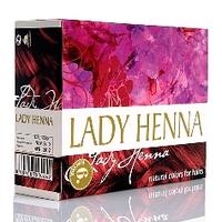 Lady Henna Краска для волос на основе хны Леди Хенна Бургунд 60 гр. 8904003500449