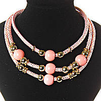 Акция [2- 20 мм] Ожерелье розовый фламинго