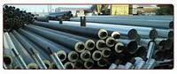 Труба сталева в ПЕ оболонці 133/225