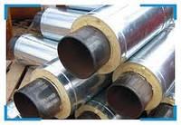 Труба стальная в оцинкованной (SPIRO) оболочке 219/315