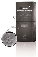 Swiss Smile Вощеная зубна лента «Базель» 1 лента для зубов черного цвета 70 м с инструкцией, оригинальная упаковка