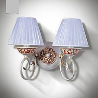 Настенный светильник, бра 2-х ламповое
