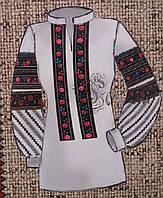 Заготовка для вышивание женской блузы на габардине, 44-56 р-ры, 300/340 (цена за 1 шт. + 40 гр.)