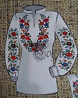 Нарядная заготовка под женскую вышиванку на натуральных тканях, 44-56 р-ры, 380/355 (цена за 1 шт. + 25 гр.)