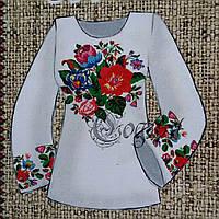 Заготовки на натуральных тканях для женских вышиванок, 44-56 р-ры, 380/355 (цена за 1 шт. + 25 гр.)