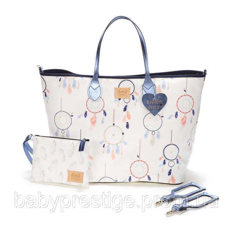 La Millou - сумка для мам Dream Catcher White (Ловец Снов)