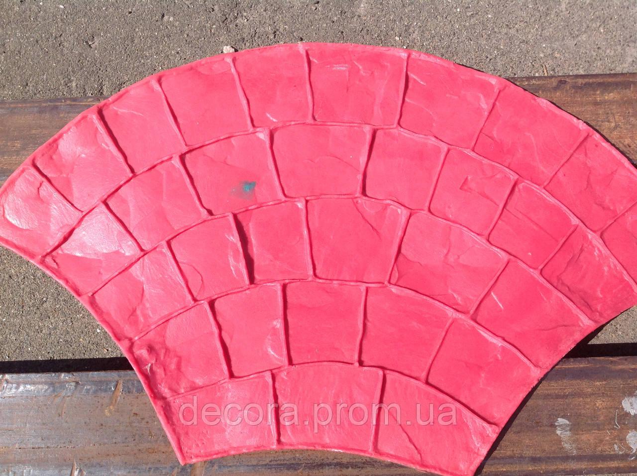 """Штампы """"Веер"""" полиуретановые для бетона, топбетон, печатный бетон"""