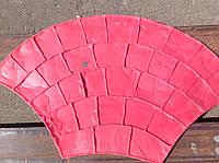 """Штампы """"Веер"""" полиуретановые для бетона, топбетон, печатный бетон, фото 1"""