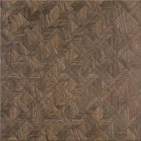 Плитка грес / керамогранит глазурованный EGZOR brown parquet 42 x 42 CERSANIT