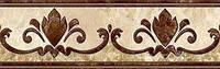 Бордюр InterCerama Emperador 13.7 x 43 коричневый 031