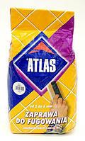 Шов для плитки ATLAS 024 темно - коричневый  2 кг
