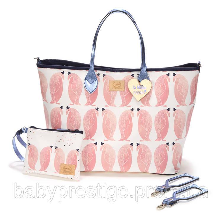 La Millou - сумка для мам Penguin Pepe (Пингвин Пепе), фото 1