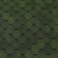 Битумная черепица Eco Roof (Эко Руф) Hexagonal-Green, Харьков