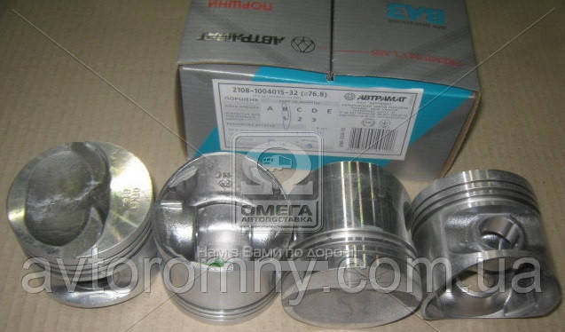 Поршни ВАЗ 2108 2109 Автрамат 76,8 А комплект